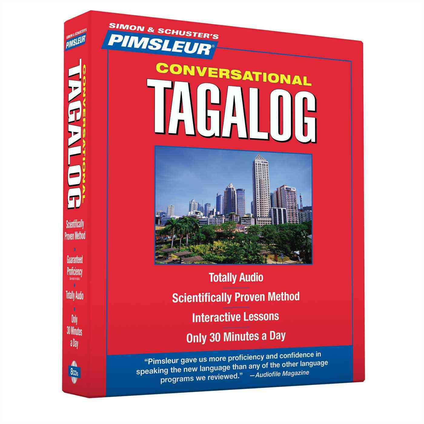 [CD] Pimsleur Conversational Tagalog By Pimsleur (COR)